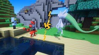 Minecraft Pixelmon Thử Thách Luyện Litten Tiến Hoá Đánh Bại  Cả Mewtwo y