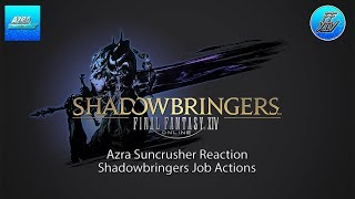 FFXIV | Shadowbringers | Job Action Trailer | Reaction
