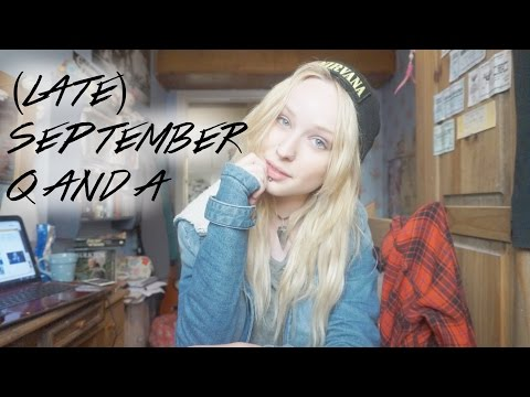 (LATE) SEPTEMBER Q&A