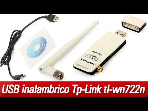 USB inalámbrico Tp-Link TL-WN722n   Unboxing en español!