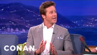 Armie Hammer Dances Around His Arrest Record