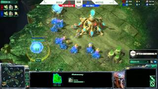 AHGL Epic vs Twitter Game 2 - Season 2 Semi Finals - Starcraft 2