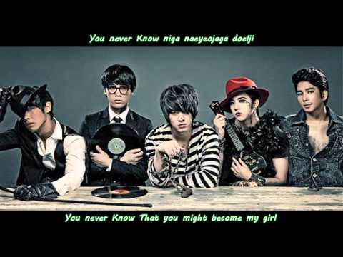 MBLAQ - MONA LISA  - TRACK #2 - MONALISA - ROMANIZATION AND ENGLISH SUB [HD]