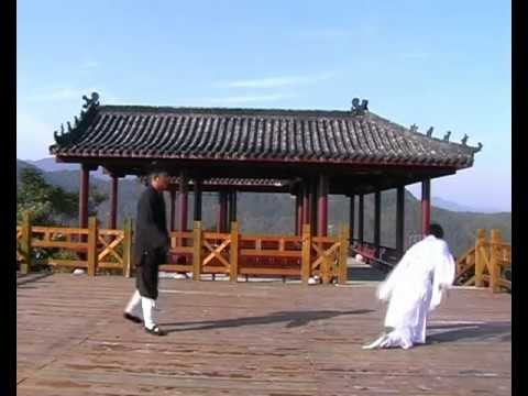 Wudang Kungfu Applications uprooting, throwing  武当 跌法 用法 ( 摔跤 摔法 ) Image 1