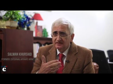 "Salman Khurshid on ""The Other Side of The Mountain"""