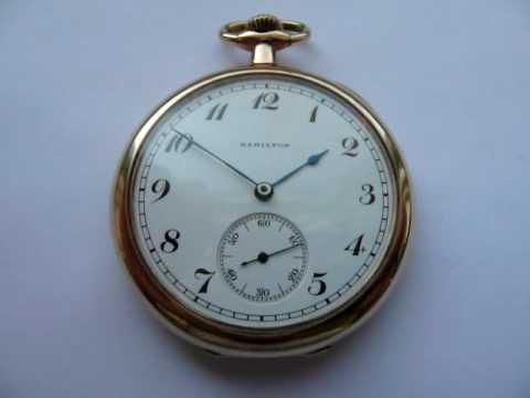 Hamilton 910 Movement Pocket Watch
