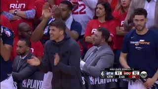2019 NBA Playoffs // Houston Rockets vs Utah Jazz // Game 5 Last 6 min of game Jazz Eliminated