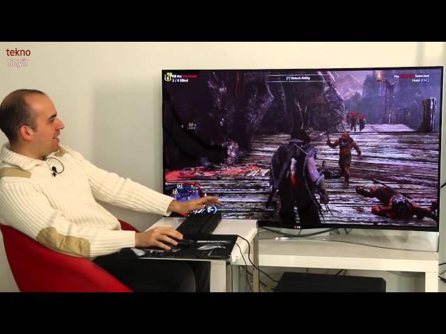 GALAX GeForce GTX 980 SOC ile Shadow of Mordor ve Battlefield 4 oynuyoruz
