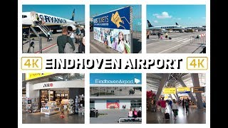 EINDHOVEN AIRPORT -  NETHERLANDS - 4K TRAVEL GUIDE