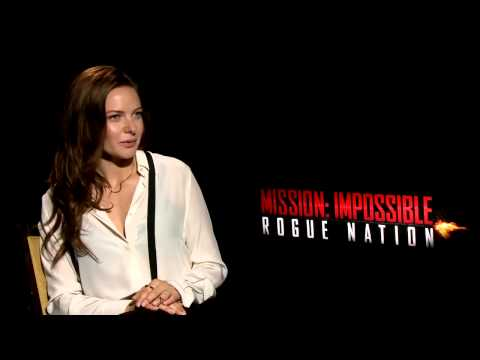 Mission: Impossible: Rogue Nation: Rebecca Ferguson