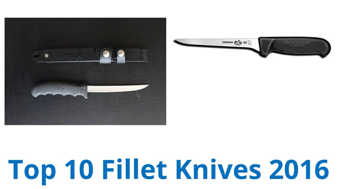 10 Best Fillet Knives 2016