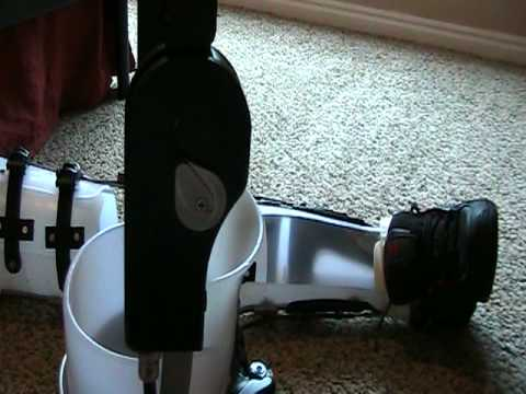 Leg Braces Built for Walking Paraplegic Video