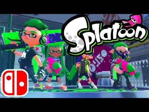 Splatoon Wii U Gameplay LIVE - Splatoon 2 News! Nintendo Switch Sequel - Online Stream Walkthrough