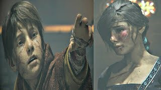 A Plague Tale Innocence - Hugo Defends His Mother With Super Power