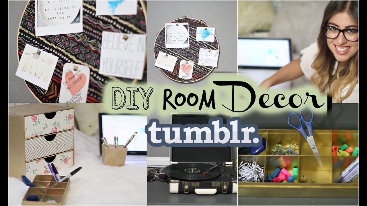 Back to school diy tumblr room decor organization amp giveaway