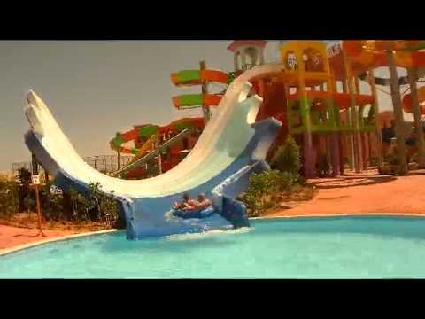 Sea Club Aqua Park <b>water</b> slides Sharm El Sheikh - YouTube