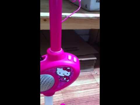 Hello Kitty Karaoke Microphone Hello Kitty Microphone Stand