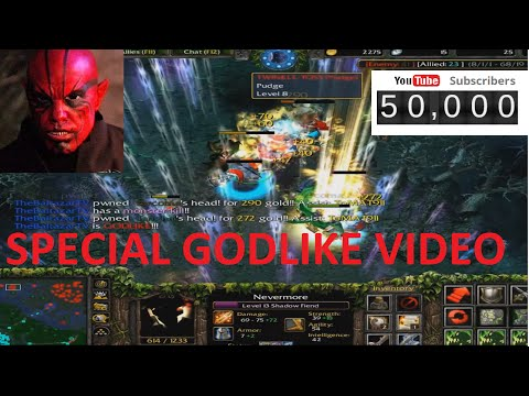 DotA TheBaltazarTV - 50 000 subscribers SPECIAL GODLIKE VIDEO !