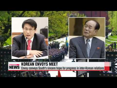 Seoul′s special envoy meets Pyongyang′s second man in Moscow   한반도 긴장 고조 속 러시아서