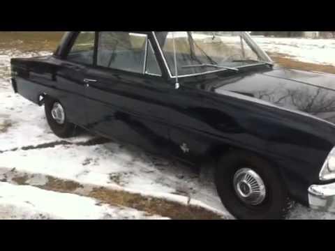 1966 Nova 2 Door Sedan All Original 327 Auto Special
