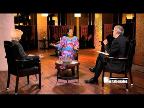 Catherine Samba-Panza sur TV5MONDE : Des