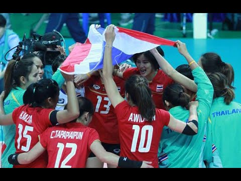 Asian Games 2014 Volleyball Women : Bronze Medal Match : Thailand VS Japan : 02-10-14