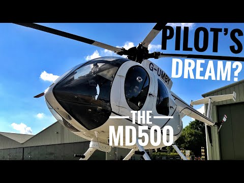MD 500 Helicopter Flying - Part 4