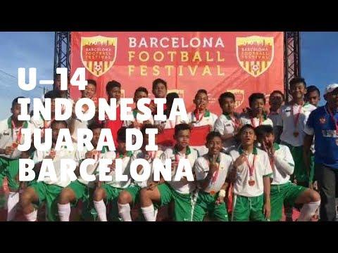 U-14 Indonesia JUARA di Barcelona diwakili SBAI GARUDA JAYA