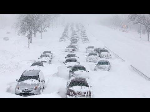 Аномальные морозы в США и Канаде. Что произошло на нашей Планете. Что произошло в мире.