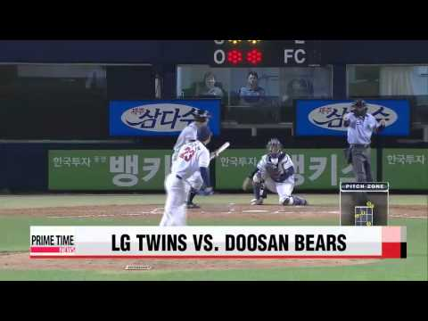 KBO: LG vs. Doosan   KBO: 엘지 vs. 두산