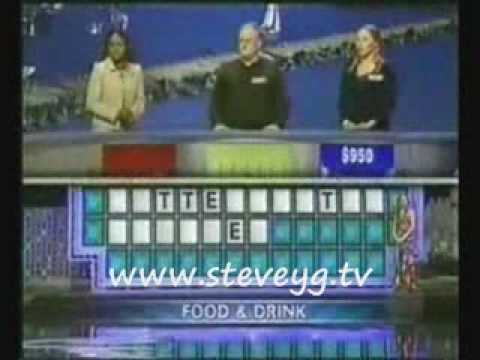Worst Wheel of Fortune Contestant Ever!