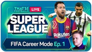 FIFA 21 MAN UTD SUPER LEAGUE CAREER MODE! GOLDBRIDGE! EPISODE 1
