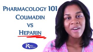 NCLEX Review: Coumadin vs Heparin