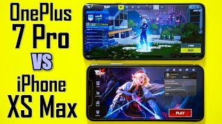 OnePlus 7 Pro vs iPhone XS Max Gaming Test Comparison