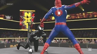 WWE 2K15 - SPIDER-MAN VS BLACK SPIDERMAN - EPIC BATTLE