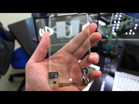 PRIMER CELULAR TRANSPARENTE (CRISTAL) 2013 SMARTPHONE