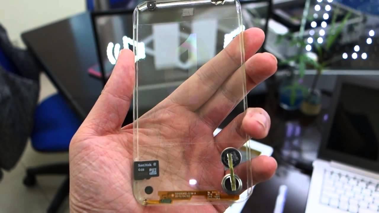 Primer Celular Transparente  Cristal  2013 Smartphone