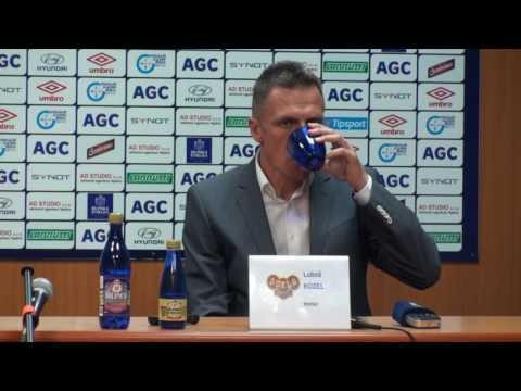 Tisková konference hostujícího týmu po zápase s Duklou Praha (11.5.2016)