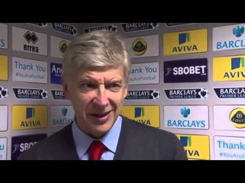 Arsène Wenger: Post Match Reaction Norwich 0 Arsenal 2