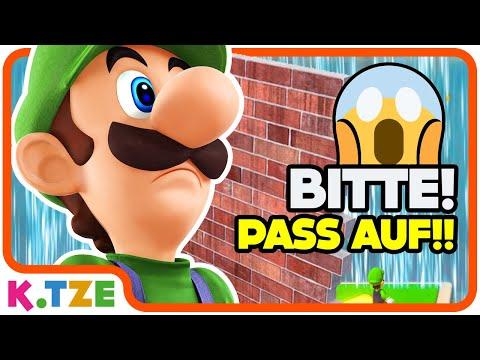 Kopf durch die Wand? 😲😂 Super Mario 3D World Multiplayer