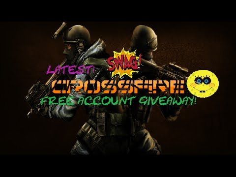 Free Crossfire Account Giveaway 2014 *100% SECURE ACCOUNT*