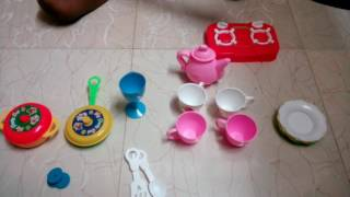 How to play kitchen set
