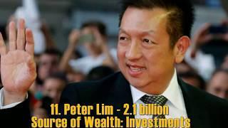 Top 20 Singaporean billionaires