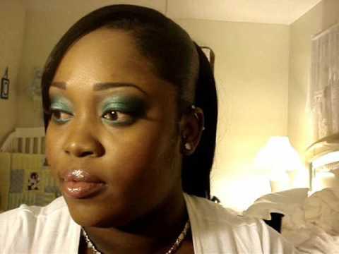 mac makeup eyes. TEAL EYESquot;MAC INSPIREDquot; BIG