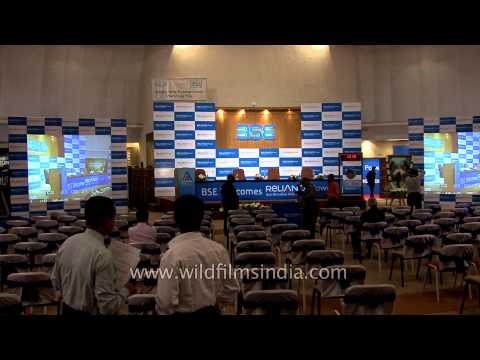 Reliance Power hosts IPO listing ceremony at Bombay Stock Exchange, Mumbai