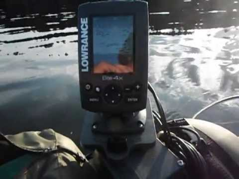 Lowrance Elite 4X Fish Finder Review #1