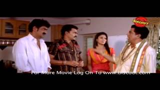 """Watch Dubai Seenu Malyalam Movie Comedy Scene online. Director by Srinu Vytla and Starring Ravi Teja, Venu Madhav, Krishna Bhagawan, Nayantara, J. D. Chakra..."