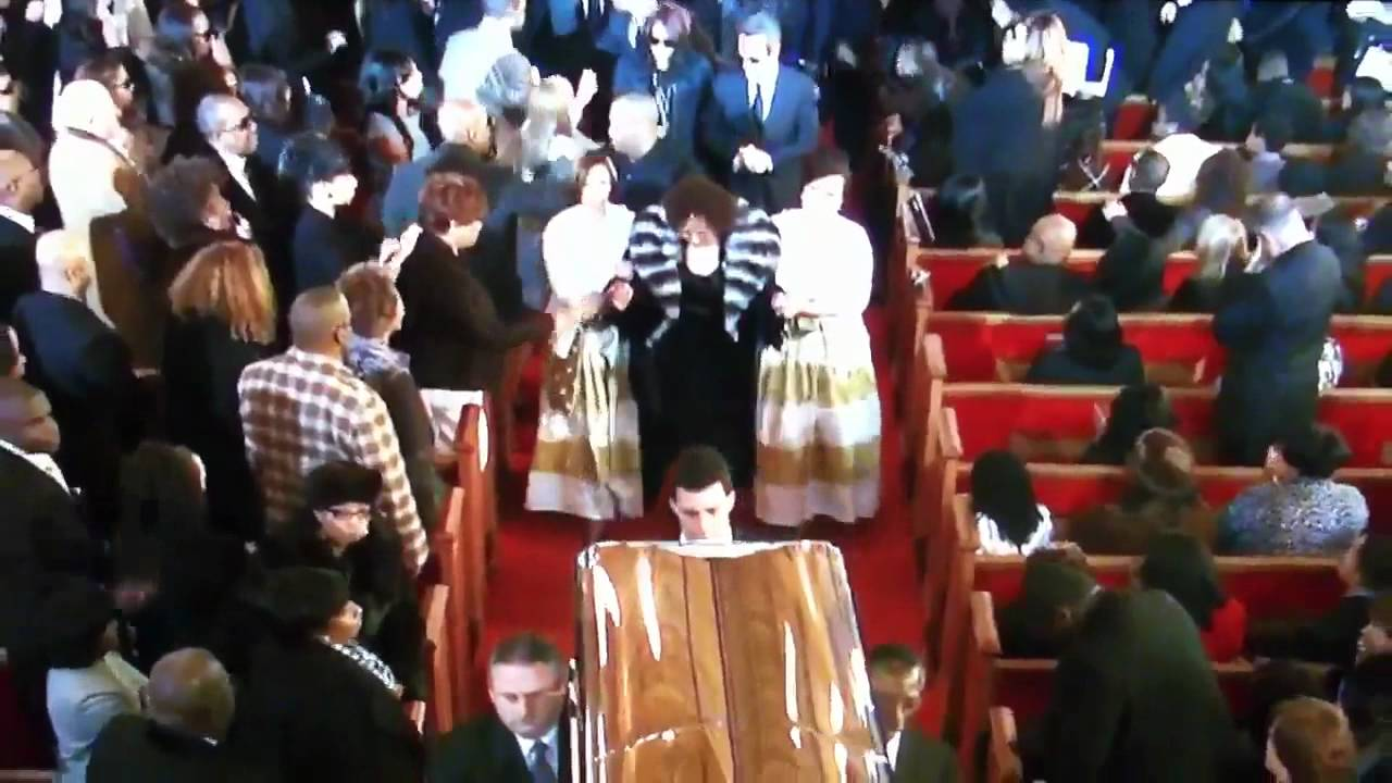 Whitney Houston Funeral Whitney Houston Funeral Casket