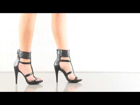 Celsus in Black Soft Nappa Silk Jessica Simpson