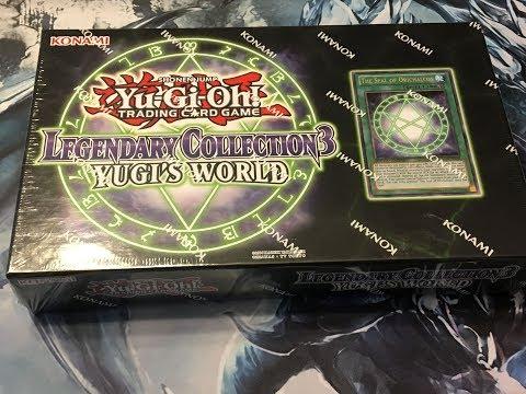 Yu-Gi-Oh! Legendary Collection 3: Yugi's World Box Opening! NIce Pulls!!!